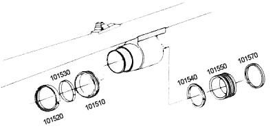12 Gauge Ring Diagrams | SKB Shotguns